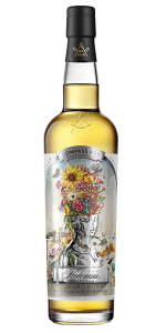 Compass Box Hedonism Felicitas Blended Grain Scotch Whisky. Image courtesy Compass Box.