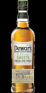 Dewar's Ilegal Smooth. Image courtesy Dewar's/Bacardi.