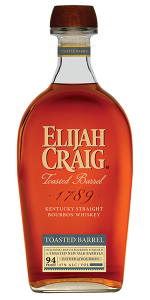 Elijah Craig Toasted Barrel Bourbon. Image courtesy Heaven Hill Distillery.