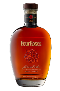 Four Roses 2020 Limited Edition Small Batch Bourbon. Image courtesy Four Roses.