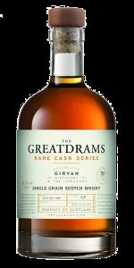 GreatDrams Girvan 30 Year Old. Image courtesy GreatDrams.