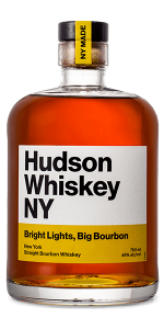 "Hudson Whiskey ""Bright Lights, Big Bourbon."" Image courtesy Hudson Whiskey."