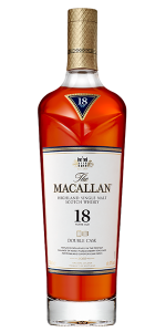 The Macallan Double Cask 18 Years Old. Image courtesy The Macallan.