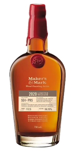 Maker's Mark 2020 Wood Finishing Series Limited Edition. Image courtesy Maker's Mark.