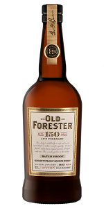Old Forester 150th Anniversary Batch #1. Image courtesy Old Forester/Brown-Forman.