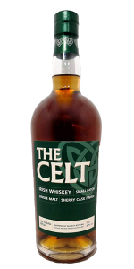 The Celt Irish Whiskey. Image courtesy Celtic Whiskey Shop.