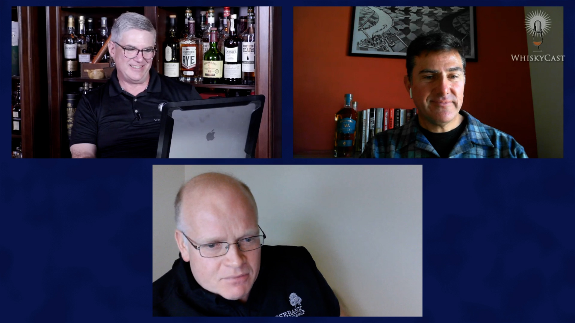 Tom Mooney of Westward Whiskey and Gordon Dundas of Ian Macleod Distillers were our guests on the final #WhiskyWednesday webcast October 21, 2020. Our webcasts will continue on Friday nights starting October 30.