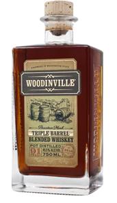 Woodinville Triple Barrel Whiskey. Image courtesy Woodinville Whiskey.