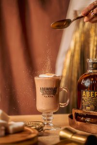 Aberfeldy's Golden Hot Chocolate. Image courtesy Aberfeldy/John Dewar & Sons.