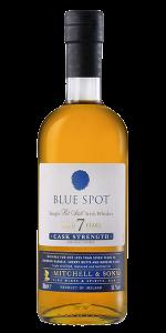 Blue Spot Single Pot Still Irish Whiskey. Image courtesy Irish Distillers.