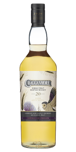 Cragganmore 20 Years Old 2020 Special Release. Image courtesy Diageo.