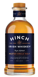 Hinch Peated Single Malt. Image courtesy Hinch Whiskey Company.