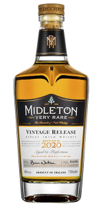Midleton Very Rare 2020 Edition. Image courtesy Irish Distillers.