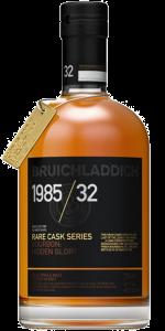 Bruichladdich-Rare Cask Series 1985/32 Bourbon Cask Edition. Image courtesy Bruichladdich.