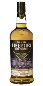 The Dublin Liberties Murder Lane Irish Whiskey. Image courtesy First Ireland Spirits/Quintessential Brands.