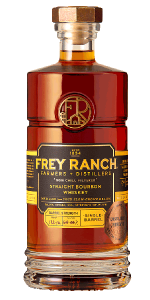 Frey Ranch Distiller's Reserve Bourbon. Image courtesy Frey Ranch.
