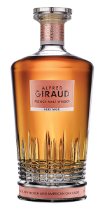 Alfred Giraud Heritage French Malt Whisky. Image courtesy Alfred Giraud/Craft Spirits