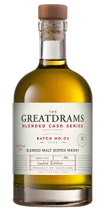 Great Drams Blended Cask Series Batch 3 Blended Malt. Image courtesy Great Drams.
