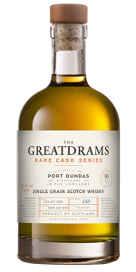 Great Drams Port Dundas 10 Years Old. Image courtesy Great Drams.