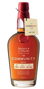 Maker's Mark Community Batch Bourbon. Image courtesy Maker's Mark/The Lee Initiative.