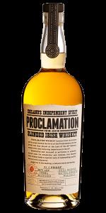 Proclamation Irish Whiskey. Image courtesy Inis Tine Uisce Teoranta.