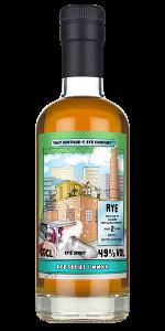 That Boutique-y Whisky Company Helsinki Rye Batch 1. Image courtesy Atom Brands/TBWC.