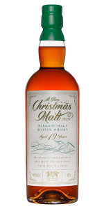 """The Whisky Exchange 2020 """"A Fine Christmas Malt."""" Image courtesy The Whisky Exchange."""