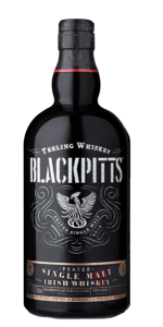 Teeling Blackpitts Irish Single Malt Whiskey. Image courtesy Teeling Whiskey Company.