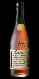 "Booker's Bourbon Batch 2020-03 ""Pigskin Batch"". Image courtesy Beam Suntory."