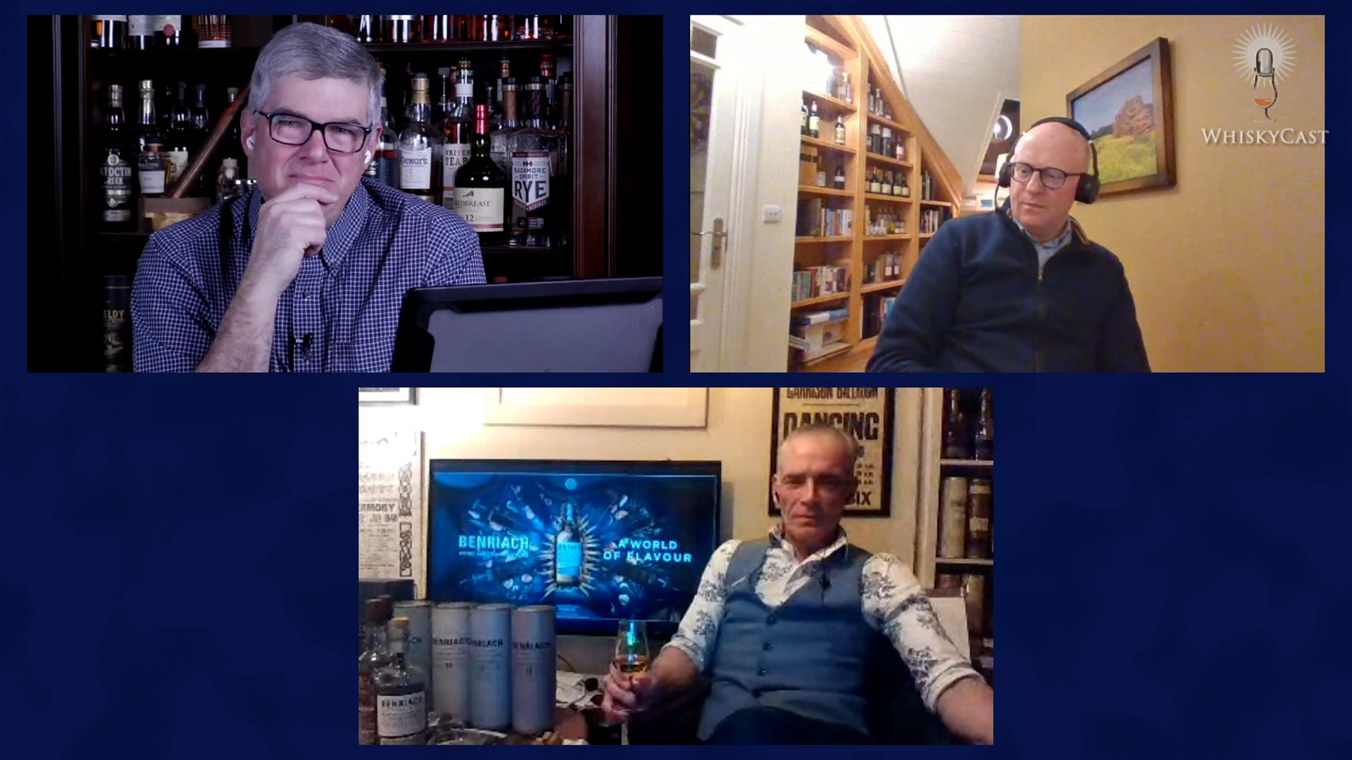 Midleton Master Distiller Kevin O'Gorman and Stewart Buchanan of BenRiach and GlenDronach distilleries were our guests on the latest #HappyHour webcast.
