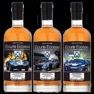 Ecurie Ecosse 8 Blended Scotch Whisky. Image courtesy Duncan Taylor & Co.