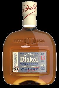 George Dickel 15 Single Barrel. Image courtesy George Dickel/Diageo.