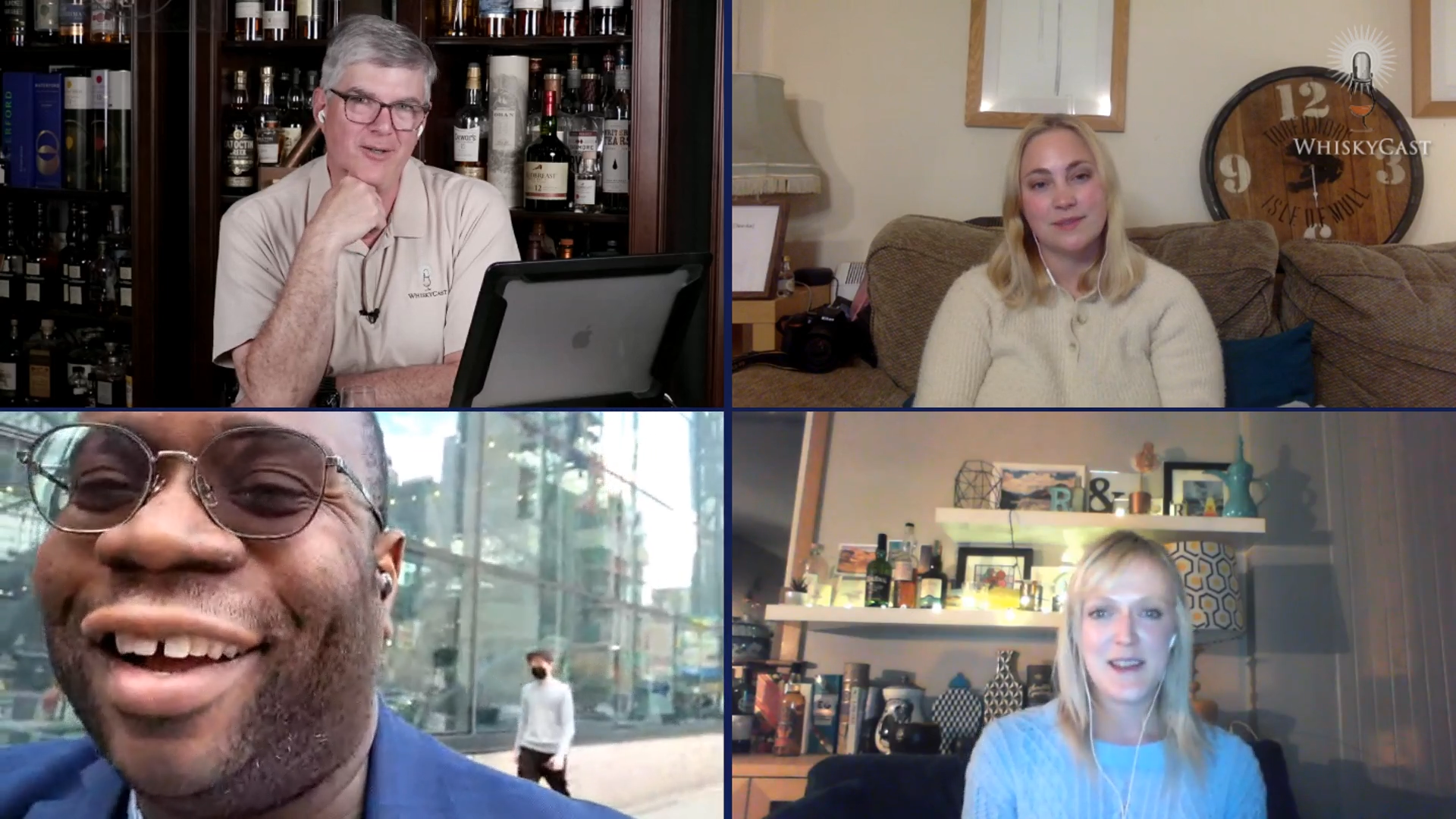 "Our latest webcast featured Moa Nilsson, the ""SwedishWhiskyGirl,"" The Scotsman's Rosalind Erskine, and Kurt Maitland, author of the new book ""The Infused Cocktail Handbook."""