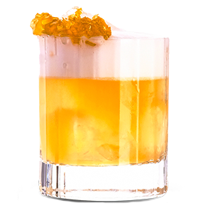 Aberfeldy's Honey Sour cocktail. Image courtesy Aberfeldy/John Dewar & Sons.