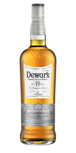 "Dewar's 2021 ""The Champion's Edition"" Blended Scotch. Image courtesy Dewar's."