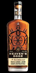 Heavens Door Redbreast Master Blenders' Edition. Image courtesy Heaven's Door Spirits LLC.