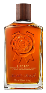 Jim Beam Lineage 15-Year-Old Bourbon. Image courtesy Jim Beam.