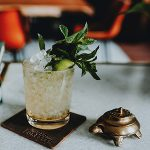 "Old Forester's ""Slow-Jito"" cocktail. Image courtesy Old Forester/Brown-Forman."