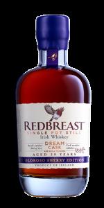 Redbreast Dream Cask Oloroso Sherry Edition. Image courtesy Irish Distillers Pernod Ricard.
