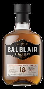 Balblair 18 Years Highland Scotch Whisky. Image courtesy Balblair/International Beverage.