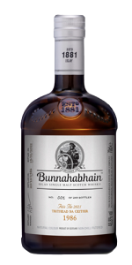 Bunnahabhain Trithead s'a Ceithur Islay single malt. Image courtesy Bunnahabhain.