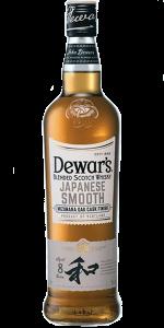 Dewar's Japanese Smooth Blended Scotch Whisky. Image courtesy John Dewar & Sons/Bacardi.