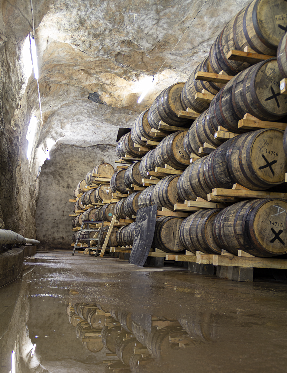 Sweden's Mackmyra Distillery unveiled its latest Moment Series release this week. Brukswhisky DLX is matured in this underground mine cavern, along with all of Mackmyra's other whiskies. It's one of the most unusual maturation warehouses in the world.