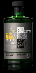 Port Charlotte Islay Barley 2021 Single Malt Scotch Whisky. Image courtesy Bruichladdich.