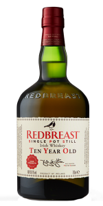 Redbreast 10 Years Old Limited Edition. Image courtesy Irish Distillers.