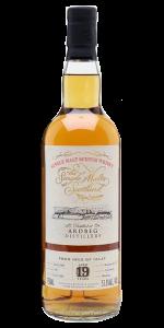Single Malts of Scotland Ardbeg 19 Year Old Scotch Whisky. Image courtesy Speciality Drinks.