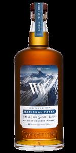 Wyoming Whiskey 2021 National Parks Edition. Image courtesy Wyoming Whiskey.