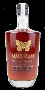 Blue Run 14 Year Old Small Batch Bourbon. Image courtesy Blue Run Spirits.
