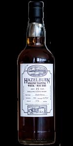 Hazelburn 15 Oloroso Cask. Image courtesy Springbank Distillers/J&A Mitchell.