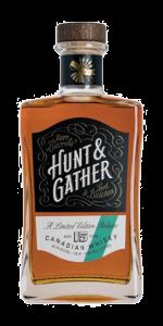 Hunt & Gather Lot No. 2 Canadian Whisky. Image courtesy Latitude Beverages.